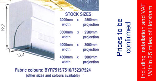 Special offer awnings
